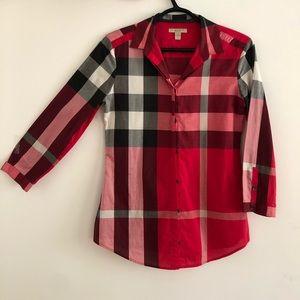 Burberry Brit women check shirt